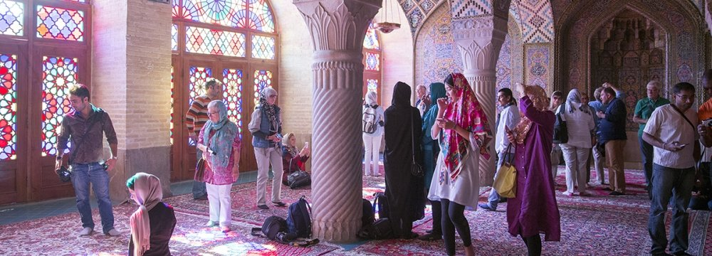 Iran Hosts 5.2 Million Foreign Tourists in 8 Months to Nov. 2018