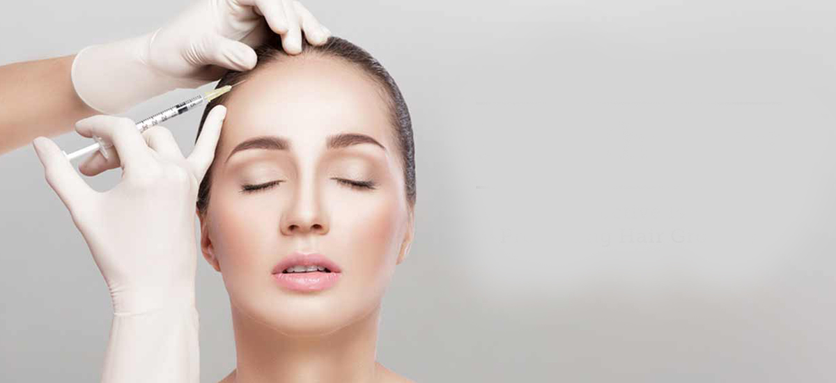 Mesotherapy is a non-surgical cosmetic medicine treatment.